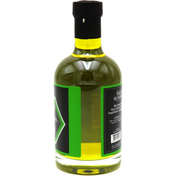 Premium Speise-Öl (350ml) - Fruchtig-natives Olivenöl mit Orange (Exklusivflasche)