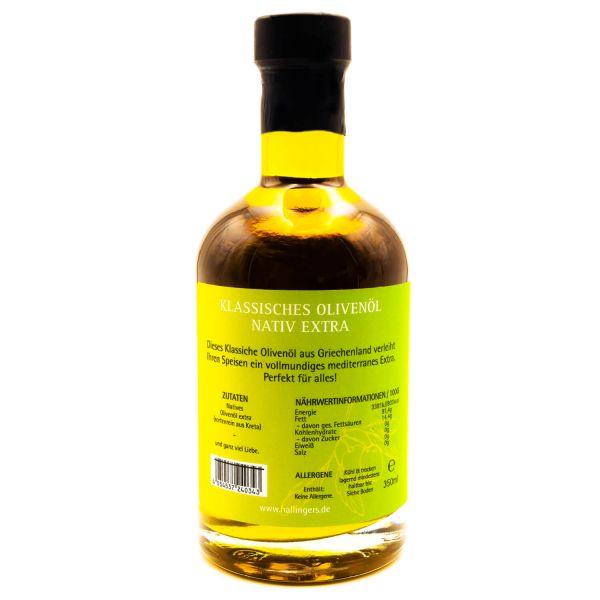 Premium Speise-Öl (350ml) - Klassisches Olivenöl nativ extra (Exklusivflasche)