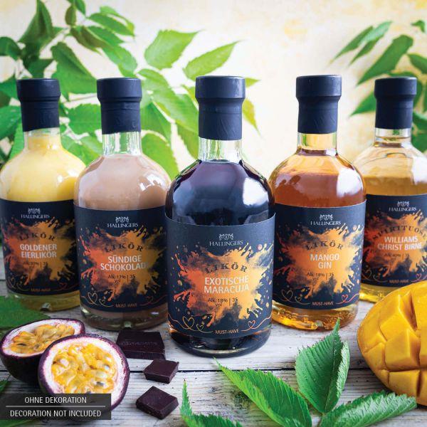 Premium Williams Christ Birnen-Brand (350ml) - Santas Alter Willy 40% vol. (Exklusivflasche)