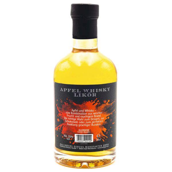 Premium Apfel-Whiskey (350ml) - Omamas Apfelwhisky 25% vol. (Exklusivflasche)
