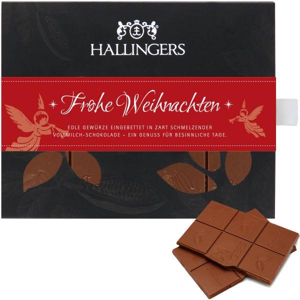 Geschenk-Set mit Tee, Schokolade & Pralinen (250g) - Klein No. 01 (Genusstasche)