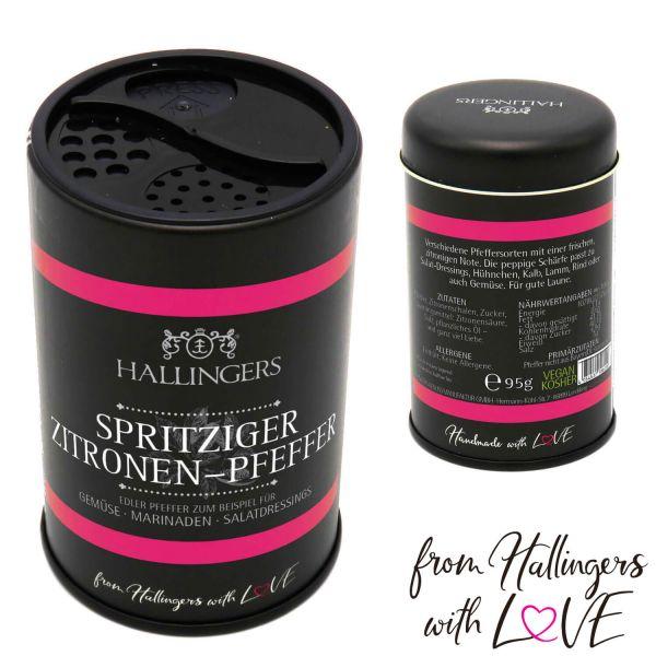 Premium Pfeffer (95g) - Spritziger Zitronen-Pfeffer (Aromadose)