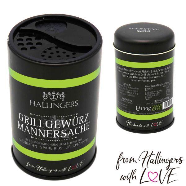 Grill-Gewürz-Mischung für Fleisch-Marinade (130g) - Männersache (Aromadose)
