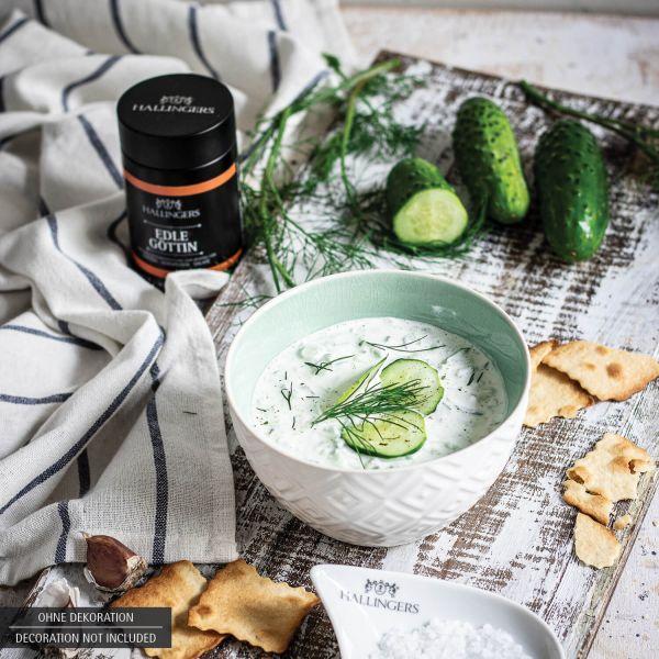 Gewürz-Mischung für Tzatziki, Vorspeisen & Salate (120g) - BBQ Edle Göttin (Aromadose)