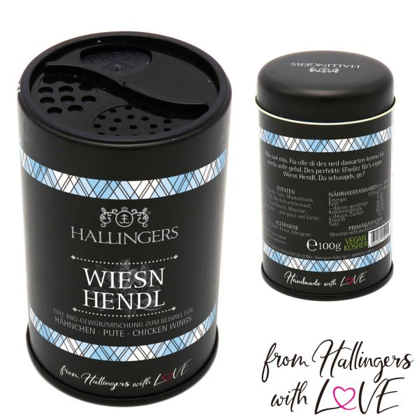 Gewürz-Mischung für Hähnchen, Pute & Chicken Wings (100g) - BBQ Wiesn Hendl Bayern (Aromadose)
