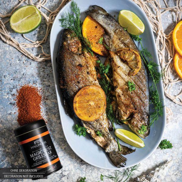 Gewürz-Mischung / BBQ-Rub zum Marinieren und Grillen (120g) - BBQ Magic Dust Grillstar (Aromadose)