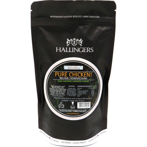 Gewürz-Mischung BBQ-Rub Marinade für Geflügel (227g) - Pure Chicken (Aromabeutel)