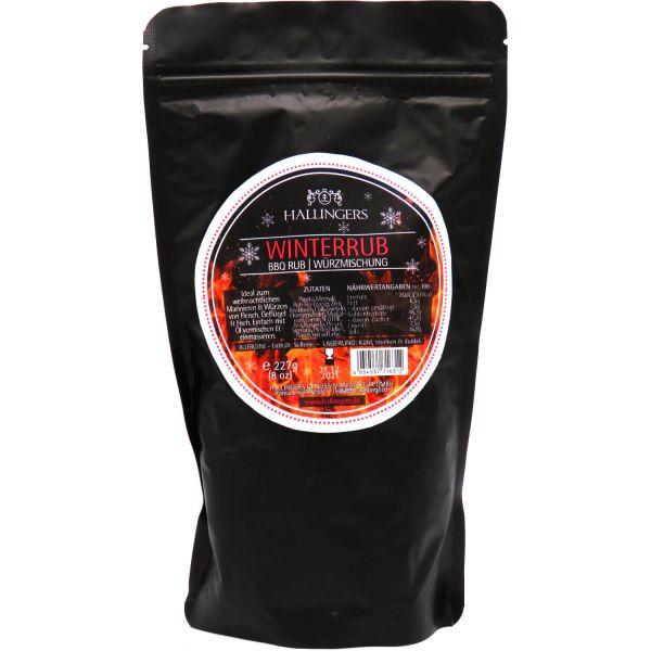 Xmas-Gewürz BBQ-Rub Winter Rub - Marinade Gewürzmischung zum Grillen (227g) - Winterrub (Aromabeutel)