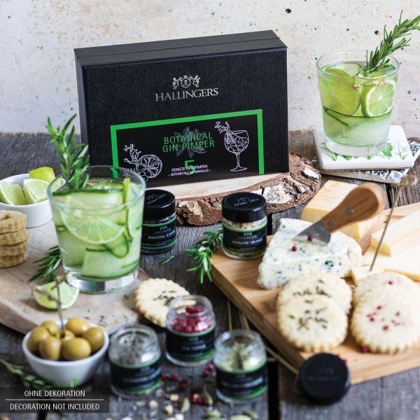 5er Premium Gin-Botanicals als Geschenk-Set (43g) - Botanical Gin Pimper (MiniDeluxe-Box)