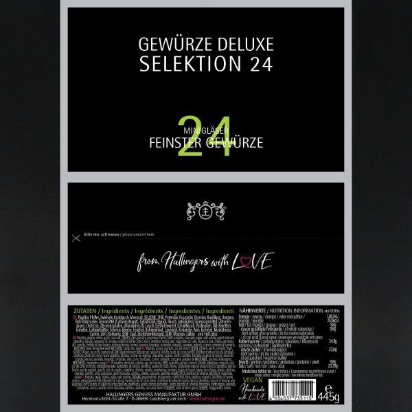 24er Gewürz-Geschenk-Set, Gewürze aus aller Welt (445g) - Gewürze Deluxe Selektion 24 (Set)