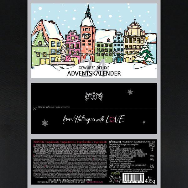 24er Gewürz-Adventskalender, Gewürze aus aller Welt (435g) - Gewürze Deluxe Adventskalender (Set)