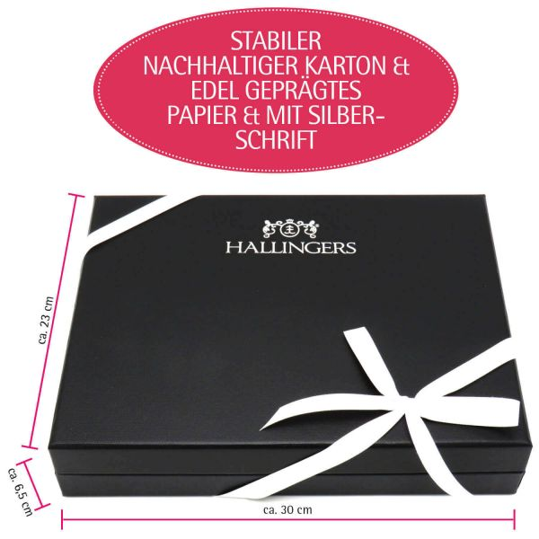 Muttertag & Vatertag Geschenk Set - Schokolade, Pralinen, Gewürze und Nougatmandeln in premium Box (478g) - Muttertag & Vatertag Box White (Design-Karton)