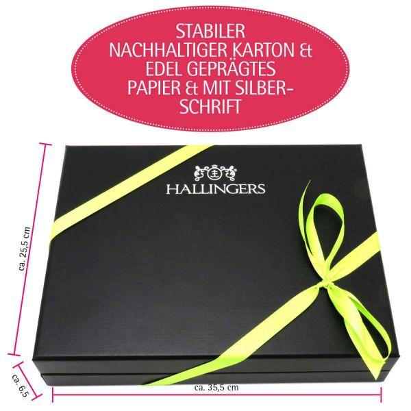Oster-Geschenk-Set 60 Trüffel und Ostereier für Ostern in edler Box (960g) - Easter Box Green (Design-Karton)