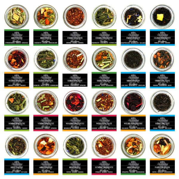 Tee-Geschenk-Set 24 Tees aus aller Welt (225g) - Tee Deluxe Selektion 24 (Set)