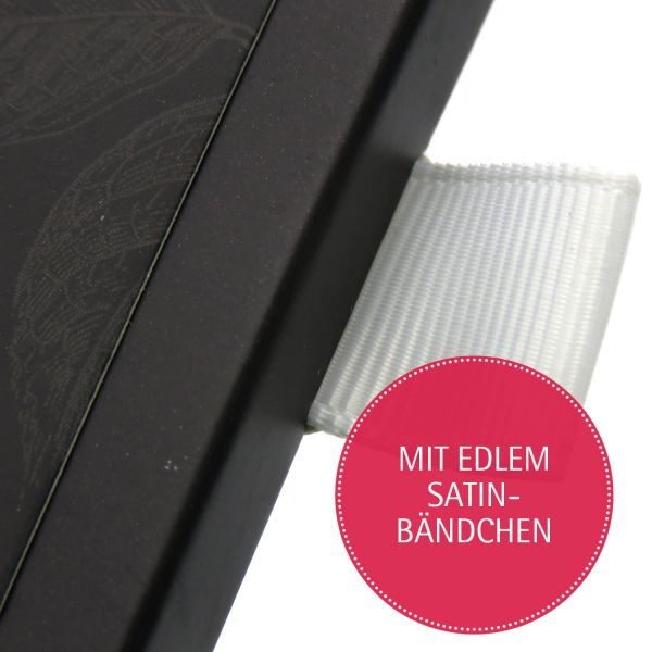 Zartbitter-Schokolade mit Vanille & Rum hand-geschöpft (90g) - Tannenrausch (Tafel-Karton)