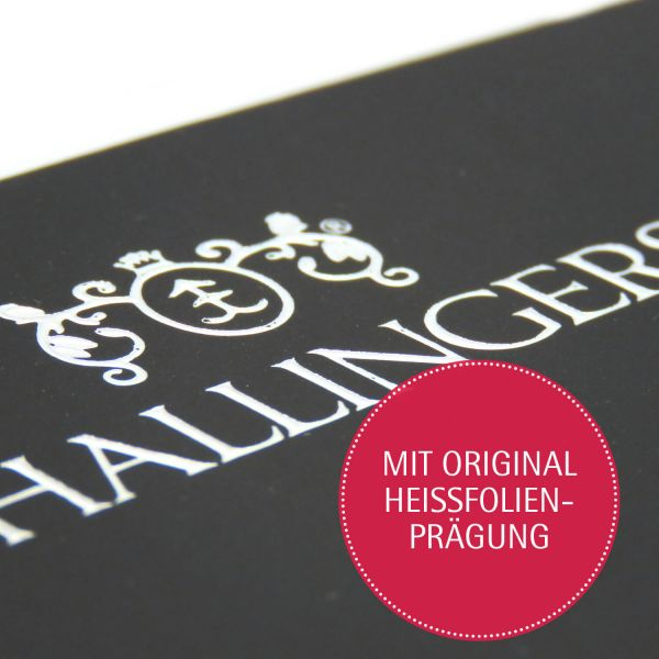 Vollmilch-Schokolade mit Gewürzen hand-geschöpft (90g) - Frohe Weihnachten (Tafel-Karton)