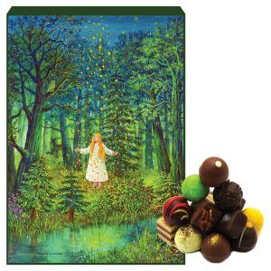 Adventskalender Pralinenkalender Sternthaler | Advents-Karton | 300g