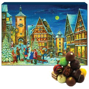 Adventskalender Pralinenkalender Rothenburg | Advents-Karton | 300g