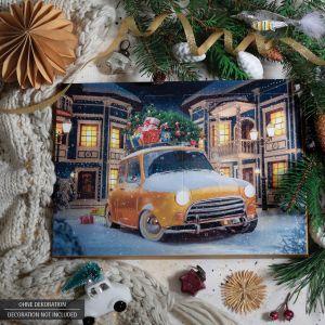 24 Pralinen-Adventskalender, mit/ohne Alkohol (300g) - Its Christmas (Advents-Karton)