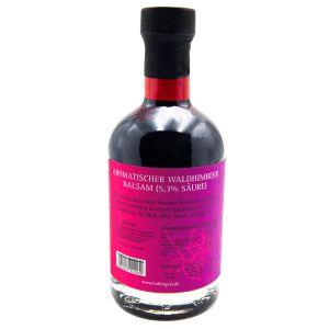 Gourmet-Essig (350ml) - Aromatischer Wald-Himbeer-Balsam (5,3% Säure) (Exklusivflasche)