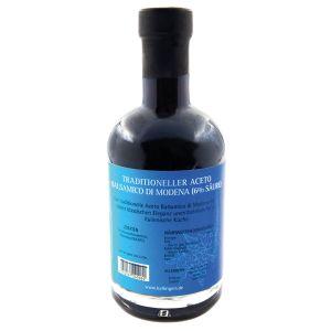 Gourmet-Essig (350ml) - Traditioneller Aceto Balsamico di Modena (6% Säure) (Exklusivflasche)