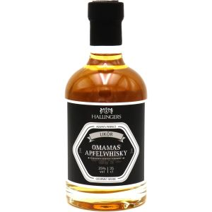 Feinster Likör Omamas Apfelwhisky 25% vol. - Geschenk für Sie und Ihn | Exklusivflasche | 350ml
