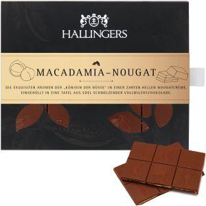 Tafel Macadamia-Nougat, Vollmilch | Tafel-Karton | 90g