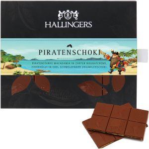 Tafel Piratenschoki, Vollmilch | Tafel-Karton | 90g