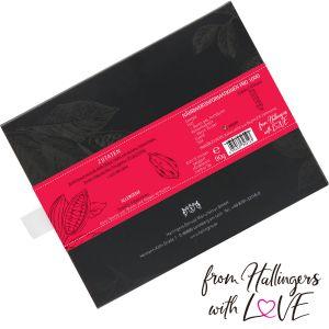 Zartbitter-Schokolade 85% hand-geschöpft (90g) - Pur 85% (Tafel-Karton)