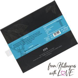 Vollmilch-Schokolade mit Nuss-Nougat hand-geschöpft (90g) - Bayerische Weihnacht (Tafel-Karton)