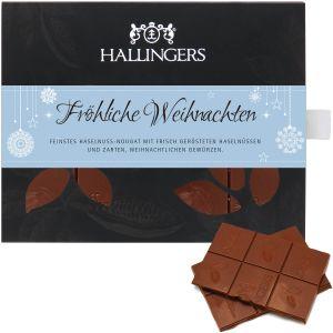 Tafel Weihnachten Fröhliche Weihnachten, Vollmilch | Tafel-Karton | 90g