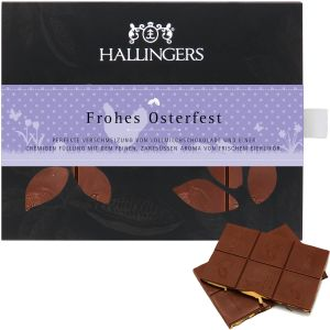 Tafel Ostern Frohes Osterfest, Vollmilch | Tafel-Karton | 90g