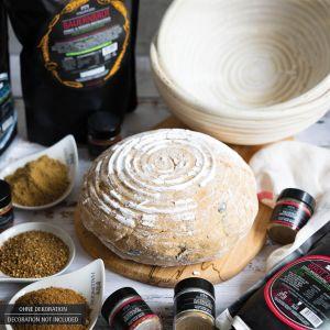 Natürliche Brotbackmischung (1.000g) - Bauernbrot - Dinkel & Roggen Brotbackmix (Aromabeutel)
