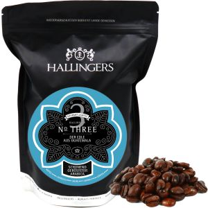Gourmet-Kaffee aus Guatemala, schonend langzeit-geröstet (500g) - No. Three (Aromabeutel)