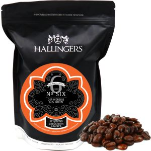 Gourmet-Kaffee aus Indien, schonend langzeit-geröstet (500g) - No. Six (Aromabeutel)