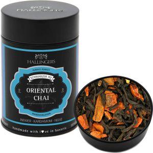 Loser Schwarz-Tee mit Ingwer, Kardamom & Nelke (140g) - Oriental Chai (Premiumdose)