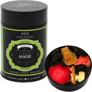 Loser Grün-Tee mit Cranberry, Mango & Pfingstrose (80g) - Magie (Premiumdose) - GRATIS
