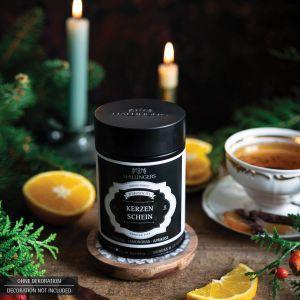 Loser Roibusch-Tee / Rooibos-Tee mit Orange, Lemongras & Aprikose (120g) - Kerzenschein (Premiumdose)