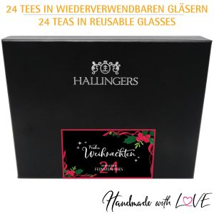 Tee-Adventskalender 24 Tees aus aller Welt (240g) - Tee Deluxe Advent 24 (Deluxe-Box)