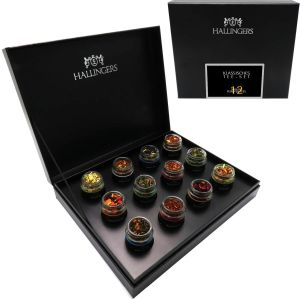 TeeMix Klassisches Tee-Set | Set/Mix | 12x Miniglas in DesignKarton | 100g