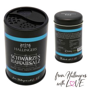 Premium Salz (200g) - Schwarzes Hawaiisalz (Dekosalz) (Aromadose)