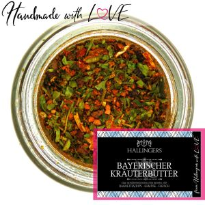 Gewürz-Mischung für Baguette/Dips, Gemüse & Fleisch (75g) - Bayerischer Kräuterbutter (Aromadose)