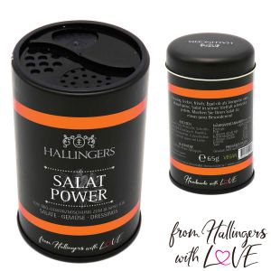 Gewürz-Mischung für Salate, Gemüse & Dressings (65g) - BBQ Salat Power (Aromadose)