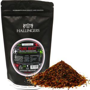 Gewürz BBQ-Rub Pure Beef - Marinade für Fleisch, Gewürzmischung zum Grillen | Aromabeutel | 227g