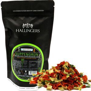 Natürlicher Suppengemüse-Mix (142g) - Suppengrün (Aromabeutel)