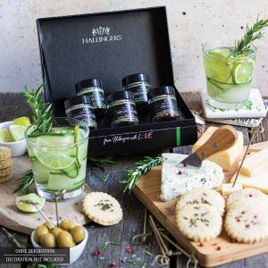 5er Premium Gin Botanicals als Geschenk-Set (43g) - Botanical Gin Pimper (MiniDeluxe-Box)