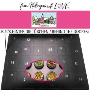 24er Gewürz-Adventskalender mit Gewürzen aus aller Welt (425g) - Gewürze Deluxe 24 Advent Hidden (Deluxe-Box)