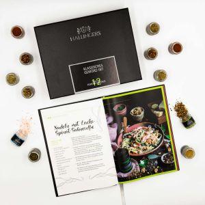 Riesiger 24 Gewürz-Adventskalender als Baum (570g) - Merry Christmas (Adventsbaum)