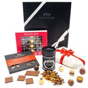 Weihnachts-Geschenk-Set in edler Box (950g) - Stollen & More (Genussbox)